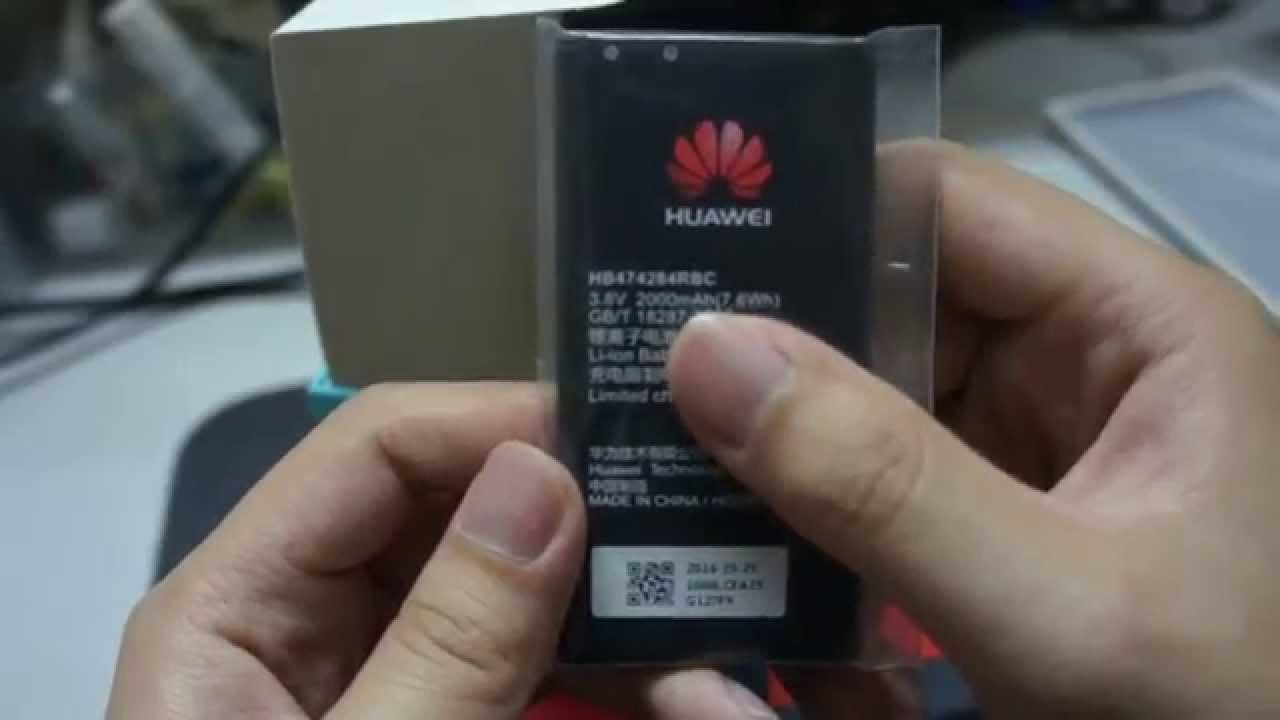 Huawei 3C Lite unboxing