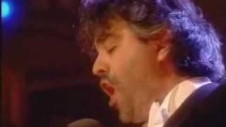 """Andrea Bocelli """"Canto Della Terra"""" Live on stage in Tuscany"""