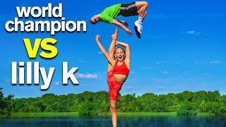 Extreme Acro Gymnastics Competition ft  Dance Moms Lilly K