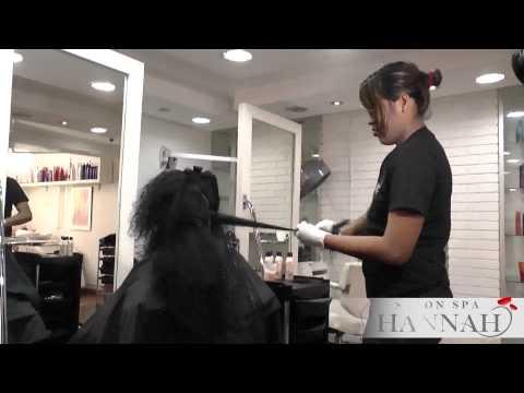 Hair botox botox capilar como queda doovi for Bano keratina en casa