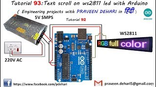 Running Text Led Arduino