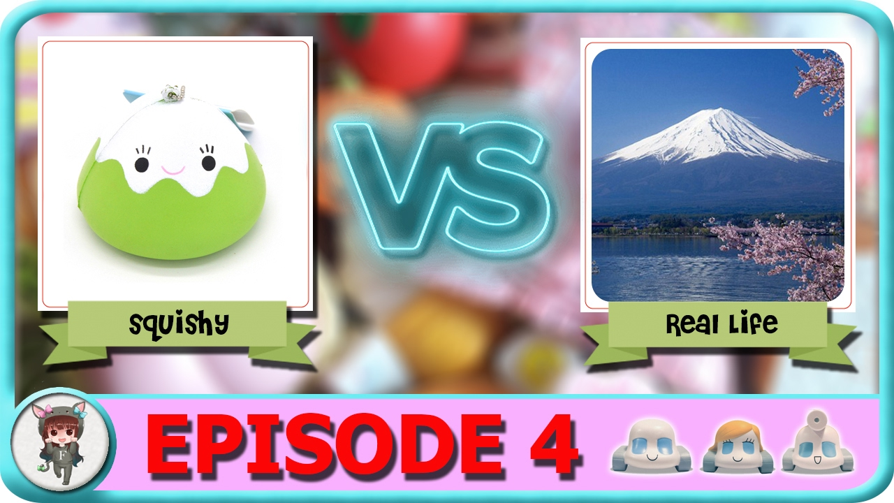 Squishy Vs Real Life Episode 4 - YouTube