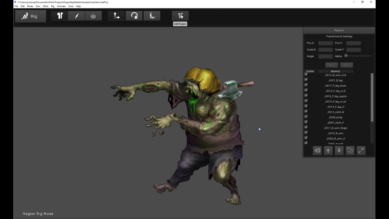 How To Import Photoshop PSD Character into Creature 2D