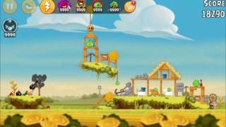Angry Birds New Golden Egg & Piggy Farm All levels