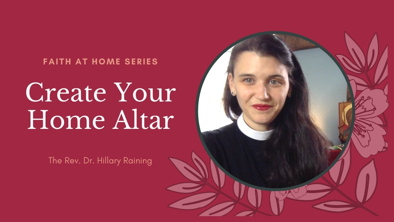 Mudhouse Sabbath - 4/9: Make Your Own Altar or Holy Space
