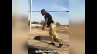 Famous Amos dances on moving flatbed #iBetYouWontChallenge thumbnail