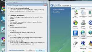 Video Tutorial - Clearing Internet Explorer  & Java Caches