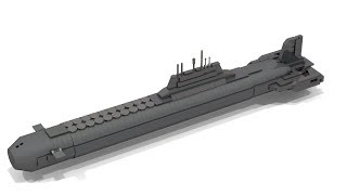 How to Build Lego Mini TYPHOON Class Submarine