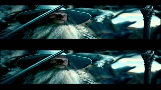The Hobbit The Desolation of Smaug 2013 DCPrip 3D trailer на русском языке!