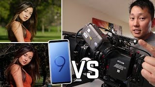 Samsung Galaxy S9 plus vs Hollywood Movie Camera Arri Alexa