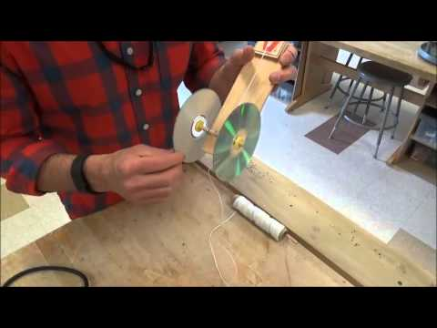 Mousetrap Car Video 5 Attaching String And Loading Youtube