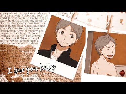 【AMV/EDIT】I love you baby || Sugawara Koushi【Haikyuu!】