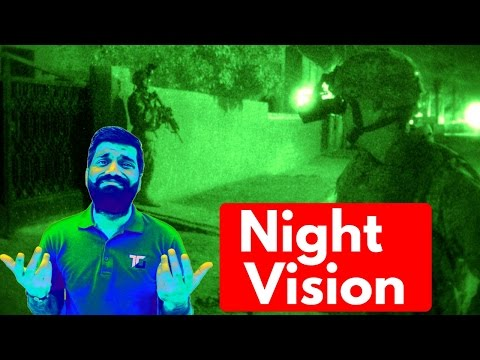 Night Vision Explained!!! Eat Some Carrots :)