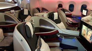 Qatar Airways   Boeing 787   ARN-DOH   Business