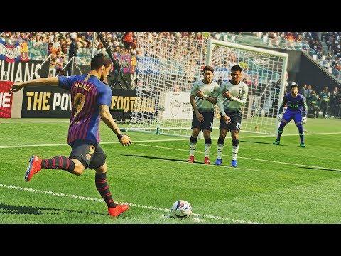 PES 2019 - Free Kick Compilation #11 HD PS4 PRO