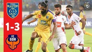 Hero ISL 2018-19 | Kerala Blasters FC 1-3 FC Goa | Highlights