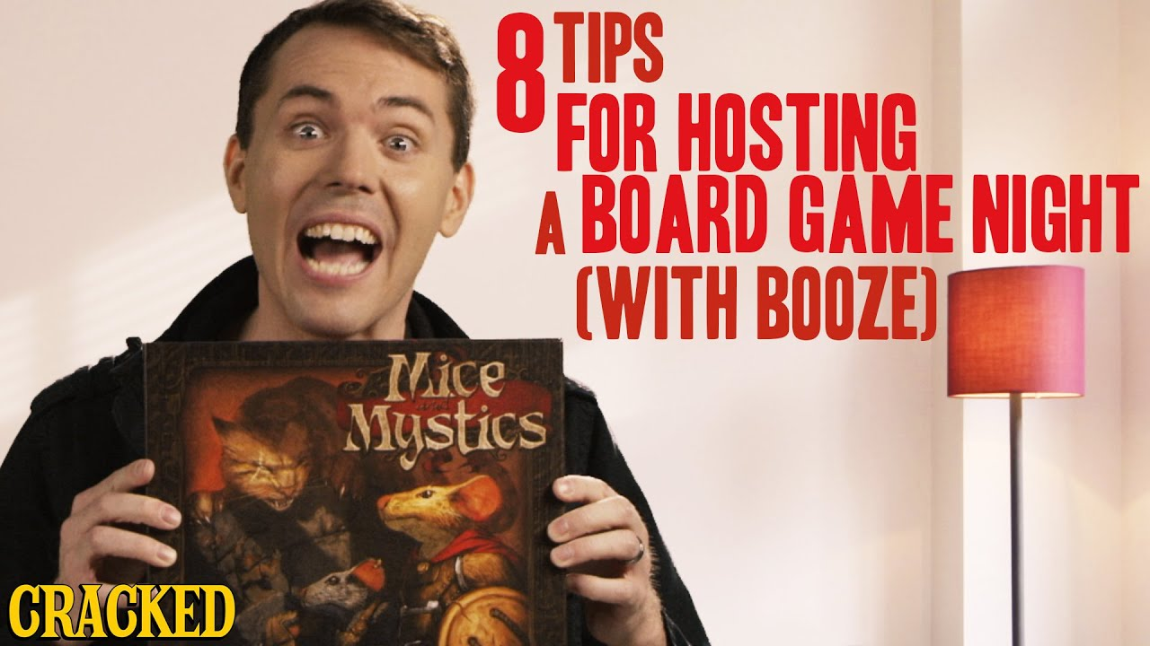 8 ways to plan a board game night for adults youtube. Black Bedroom Furniture Sets. Home Design Ideas