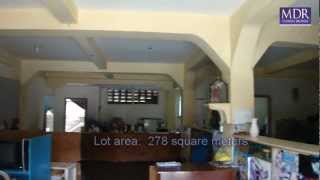 davao city real estate  partially built 3 storey boarding house MDR419