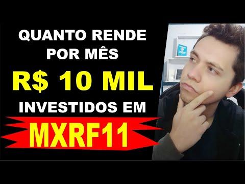 (MXRF11) Quanto RENDE por MÊS R$ 10 MIL Investidos nesse Fundo Imobiliário | Melhores Investimentos