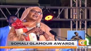 Jamila Mohamed,  Hussein Mohamed feted at Somali Glamour Awards