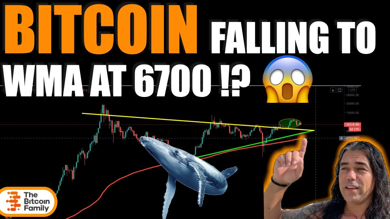 WARNING!! CAN BITCOIN FALL TO THE 200 WMA AT $6700!? Time to zoom out and check this amazing place!