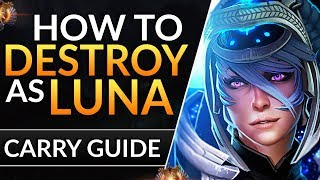 The ULTIMATE LUNA Guide: Best Tips and Tricks to RANK UP | Dota 2 Carry Guide (Pro Gameplay)