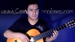 Como tocar para siempre de Vicente Fernandez por Santiago Morocho