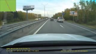 Момент аварии на трассе аэропорт Домодедово(, 2015-03-17T17:23:58.000Z)