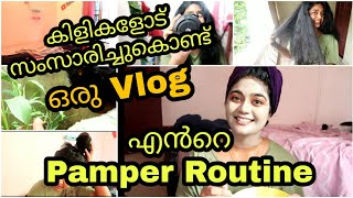 🔥🌸 My Self Pampering Routine + Vlog  |SKIN & HAIR ROUTINE /Malayalam beauty tips| SimplyMyStyle Unni