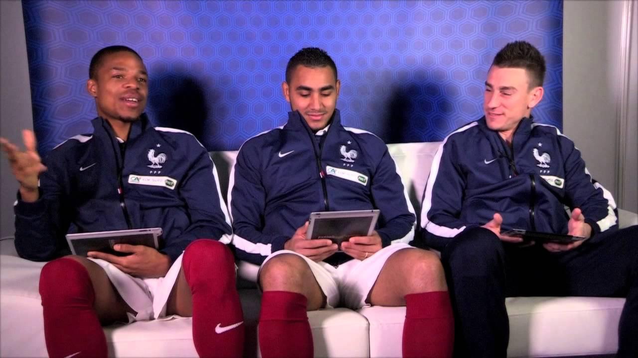 Les Questions Décalées avec l'équipe de France masculine de Football - Episode 2