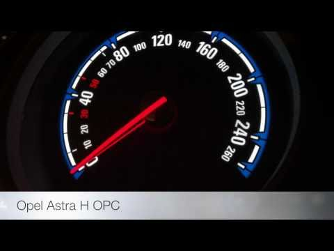 Opel Astra H OPC 0-100 km/h