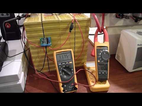 Capacity Testing A 400Ah LiFePO4 Battery Bank