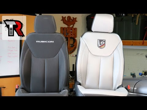 Leather Seats Interior Kit Install – Jeep Wrangler