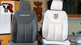 Leather Seats Interior Kit Install - Jeep Wrangler