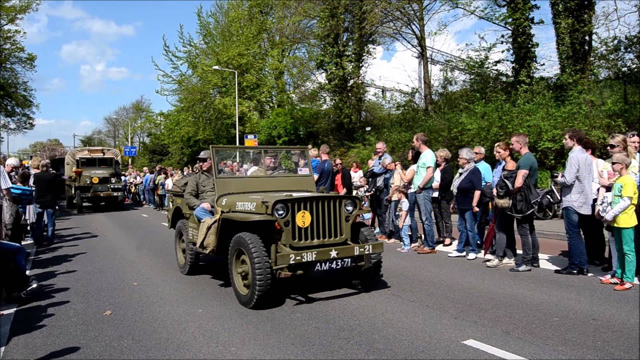 Bevrijdingsparade Keep Them Rolling Enschede 5 Mei 2015 Youtube