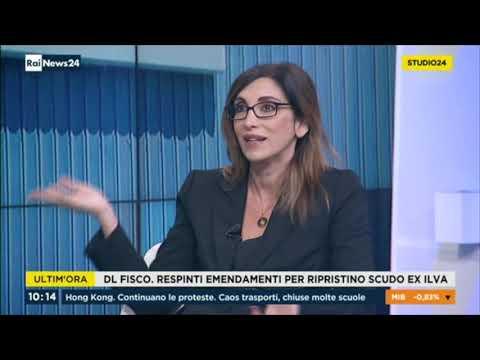 Michele Gubitosa ospite a RaiNews24 13/11/2019