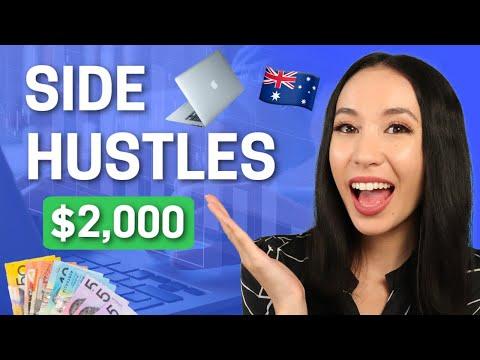10 Best Side Hustle Ideas In Australia 2021