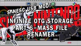 SNES Classic USB Mod | Part 6 - MASS Renaming!
