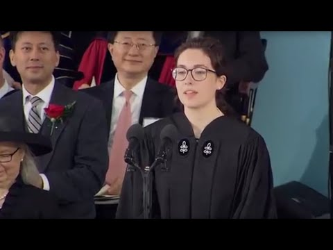 Latin Orator Anne Power | Harvard Commencement 2016
