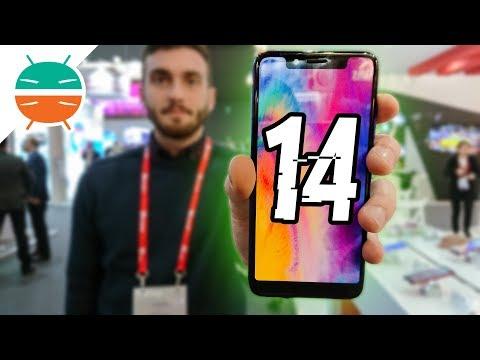 14 CLONI CINESI Dell'iPhone X Che NON CONOSCEVI! - MWC 18