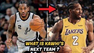 How a Kawhi Leonard Trade Would Alter the NBA