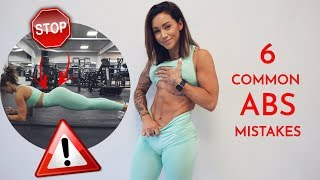 Fixing These 6 Abs Mistakes REALLY Changed My Training - Common Gym Errors