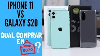 iPhone 11 vs Galaxy S20: QUAL A MELHOR ESCOLHA?
