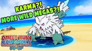 MORE WILD MEGAS?? KARMA?! | Pokemon Omega Ruby Alpha Sapphire RANDOMIZER Nuzlocke Co-Op #6