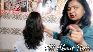 कैसे करे Feather To layer Cut with side bangs