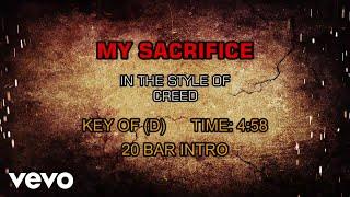 Creed - My Sacrifice (Karaoke)
