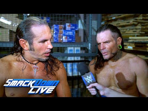 The Hardy Boyz react to becoming SmackDown Tag Team Champions: SmackDown Exclusive, April 9, 2019