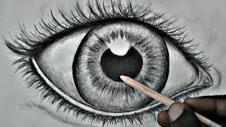 Step-by-Step: Drawing A Realistic Eye (for beginners)