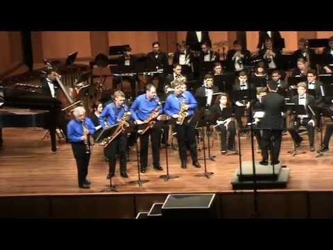 Bolcolm Concerto Grosso w/U of Memphis Wind Ensemble