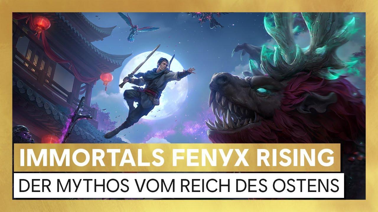 Immortals Fenyx Rising: Der Mythos vom Reich des Ostens - Launch-Trailer | Ubisoft